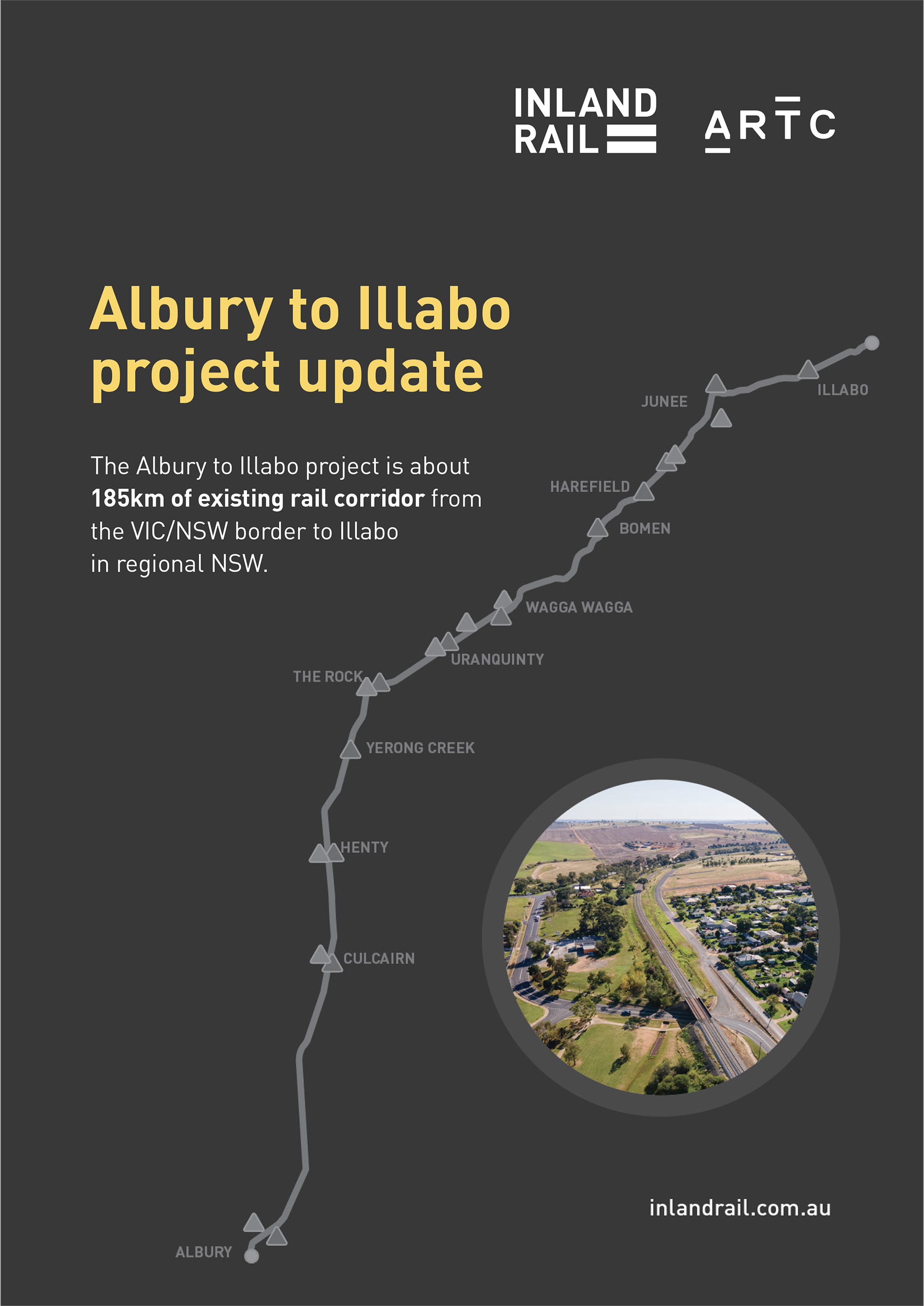 Albury to Illabo project update