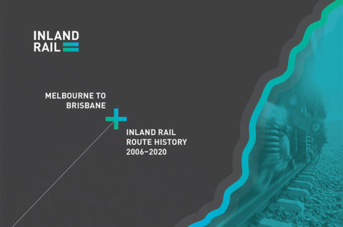 Inland Rail route history 2006-2020 thumbnail image of cover