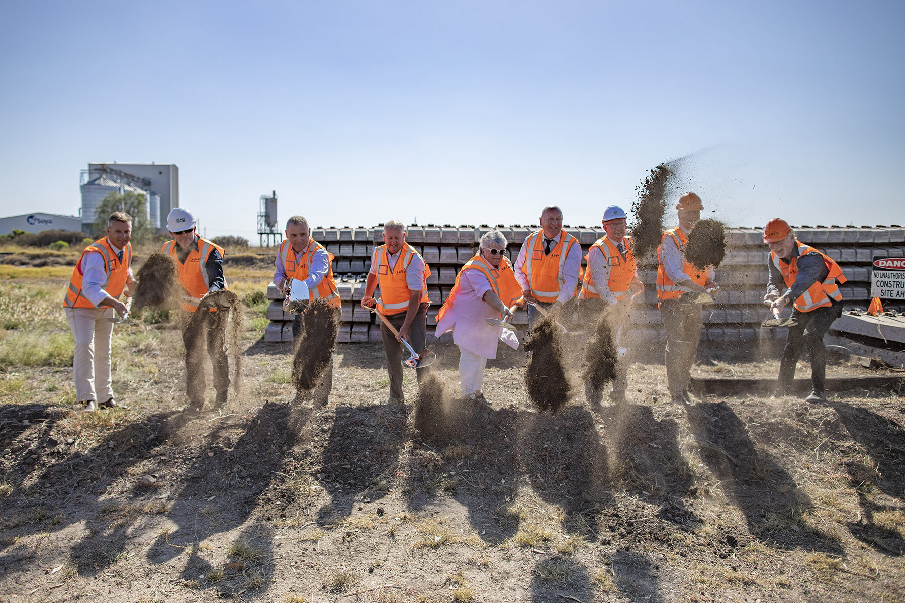Sod turn for Narrabri to North Star project