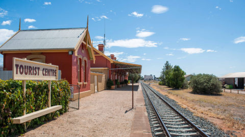 Forbes Railway Station