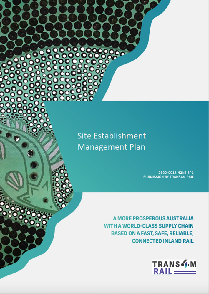 Thumbnail of document cover of Narrabri to North Star SP1 Site Establishment Management Plan